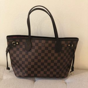 Louis Vuitton Neverfull Damier Ebene Pm